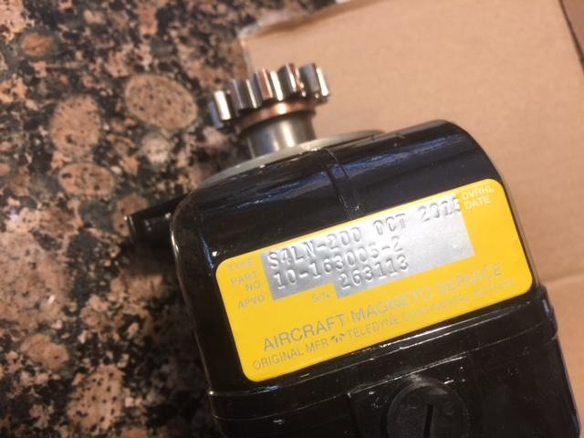FS: Bendix mags, ignition harness, boost pump, fuel pump
